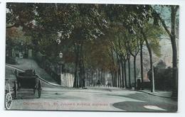 Guernsey Postcard St Julians Avenue . Unused Animated - Guernsey