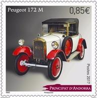 French Andorra 2017 - Peugeot 172M Mnh - Ungebraucht