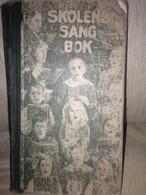 Norway 1917 Book For School Music Book - Boeken, Tijdschriften, Stripverhalen