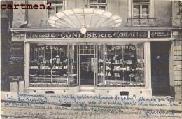 LAUSANNE CONFISERIE DE Mr. GAENG BURNIER RUE HALDIMAND 5 SUISSE DEVANTURE COMMERCE PATISSERIE - VD Vaud