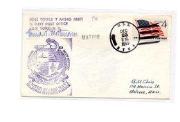 MK548 - STATI UNITI , Deep Freeze 25/12/1959 - Filatelia Polare