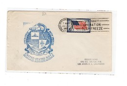 MK551 - STATI UNITI , Uss Pole Station Deep Freeze 1959 - Filatelia Polare