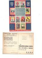 $3-5690 CAMPAGNA ANTITUBERCOLARE 1940 CONCORSO PREMI LOTTERIA - Salute