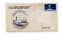 MK552 - STATI UNITI , Sealife For Security . Air Force Postal Service 1959 - Filatelia Polare