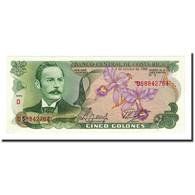 Billet, Costa Rica, 5 Colones, 1989-10-04, KM:236d, NEUF - Costa Rica
