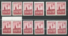 Yugoslavia 1948 Slav Congress - Lot 12 Stamps - Sigismund's Column,Warsaw, Poland - MNH** - 1945-1992 Socialist Federal Republic Of Yugoslavia