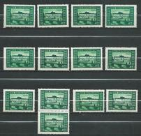 Yugoslavia 1948 Slav Congress - Lot 13 Stamps - Prague Castle,Czech Republic - MNH** - 1945-1992 Socialist Federal Republic Of Yugoslavia