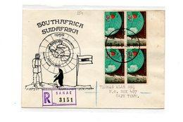 MK554 - SOUTH AFRICA SUD AFRICA , Raccomandata Sanae 1960 - Filatelia Polare
