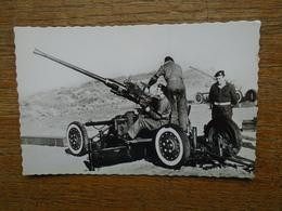 Armée Belge , Canon 40 M/m A.A. - Regimenten