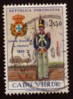 Cabo Verde 1965 Portuguese Military Uniforms - Cap Vert