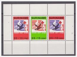 Surinam / Suriname 1979 Rode Kruis - Red Cross - Rote Kreuz - Croix Rouge S/S MNH - Suriname