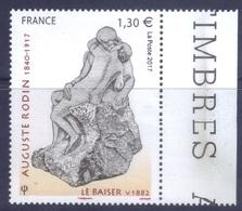 5168 Rodin Le Baiser BDF (2017) Neuf** - France