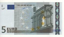 "5 EURO  ""P""  Olanda     Firma Duisenberg    G 001 B5   /  FDS - UNC - EURO"
