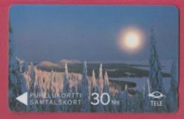 FINLANDE--Télécarte Magnetique--30 MK----Ouhelukortti Samtalskort - Finlande