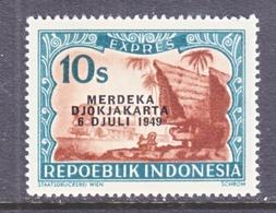 INDONESIA  E 1 F    * - Indonesia