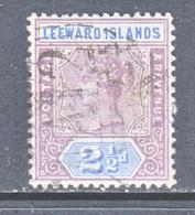 LEEWARD  ISLANDS  3  (o)  Wmk. 2 - Leeward  Islands