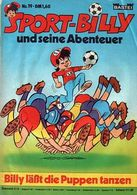 Sport-Billy Nr. 19 Comicheft Bastei-Verlag - Livres, BD, Revues