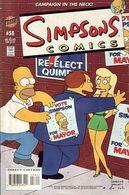 Simpsons Comics Nr. 58 (US-Ausgabe) Bongo Comics - Bücher, Zeitschriften, Comics