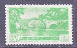LIBAN 242  (o)  1950  Issue  BRIDGE - Lebanon