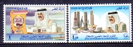 2000 QATAR 29th Anniversary Of Independence Complete Sets 2 Values MNH - Qatar