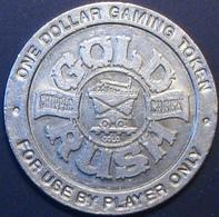 $1 Casino Token. Gold Rush, Cripple Creek, CO. D74. - Casino