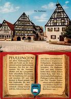 73177682 Pfullingen Die Rathaeuser Fachwerkhaeuser Chronik Wappen Pfullingen - Alemania
