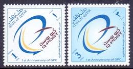 2002 QATAR Q- POST Complete Sets 2 Values MNH - Qatar