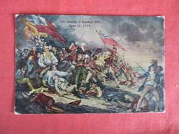 Battle Of Bunker Hill June 1775   - Ref 2939 - History