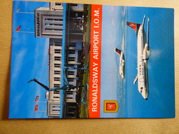 AIRPORT / FLUGHAFEN / AEROPORT   ISLE OF MAN RONALDSWAY  ATP MANX - Aérodromes