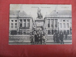 > Belgium > Brussels  Place Des Martyrs  Stamp & Cancel------- Ref 2940 - Belgium