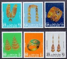 2003 QATAR Women's Ornaments Complete Sets 6 Values MNH - Qatar