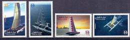 2005 QATAR World Sail Race Complete Sets 4 Values MNH - Qatar
