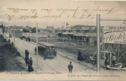 H125 - 69 - Semaine Lyonnaise D'Aviation 7-15 Mai 1910  - Rhône - L'entrée Du Village Des Brosses - Otros Municipios