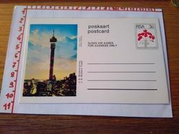 144270 CARTOLINA POSTALE  RSA POSKAART POSTCARD  J G STRIJDOM TOWER - Sud Africa