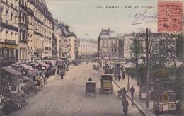 Paris -- Rue Du Temple -- Calèches - Arrondissement: 03