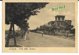 Lazio-roma-ladispoli Viale Della Stazione Bella Veduta D'epoca Anni 40 50 - Altre Città
