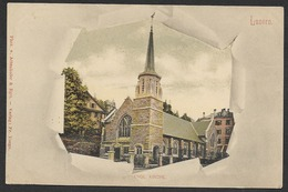 LUZERN Englische Kirche Markuskirche St. Marks Church Ca. 1900 - LU Lucerne