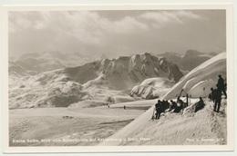 AK  Ski Gebiet Kleine Reibe Reibn Blick Vom Schneibstein Auf Kahlersberg Bei Berchtesgaden - Berchtesgaden