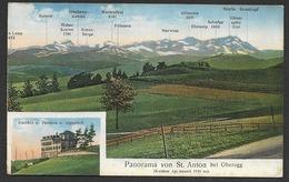 ST. ANTON AI Oberegg Gasthof Pension ALPENHOF Ca. 1920 - AI Appenzell Rhodes-Intérieures