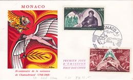 FDC (br3292) - Monaco