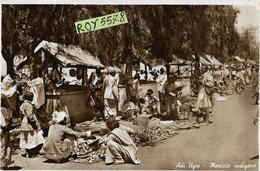 Eritrea Ex Colonia Italiana Adi Ugri Veduta Animatissima Mercato Indigeno Anni 30(viaggiata) - Eritrea