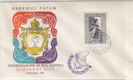 Habemus Papam - Giovanni XXIII 4.11.58 - Vatikan