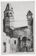 VILLENEUVE D' AVEYRON - N° 143 - L' EGLISE - CPA NON VOYAGEE - Autres Communes