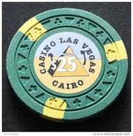 EGYPT / LES VEGAS / CASINO / CAIRO / 25 $ - Casino