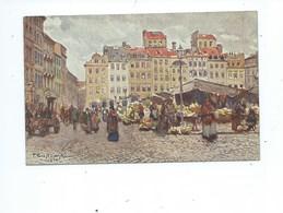 Warszawa Salon Kulikowskiego Prawa Zastrzezone T. Cieslewski Rynek Starego Miasta - Pologne
