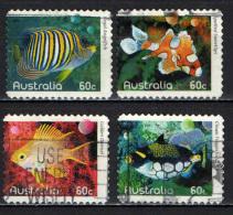 AUSTRALIA - 2010 - PESCI TROPICALI - FISHES - USATI - 2010-... Elizabeth II