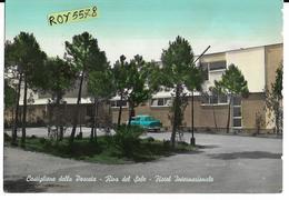 Toscana-grosseto-castiglione Della Pescaia  Riva Del Sole Hotel Albergo Internazionale Anni 50/60 - Italia