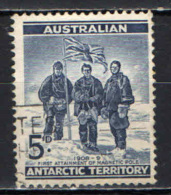 TERRITORI DELL'ANTARTICO - 1961 - SPEDIZIONE AL POLO SUD DEL 1908--1909 - USATO - Territorio Antartico Australiano (AAT)