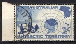 TERRITORI DELL'ANTARTICO - 1957 - SPEDIZIONE AL POLO SUD DEL 1908--1909 - USATO - Territorio Antartico Australiano (AAT)