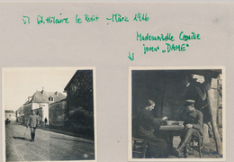 51) St-Hilaire-Le-Petit : 2 Petites Photos Allemandes Mars 1916 (1.WK - WW1 - Weltkrieg) - France